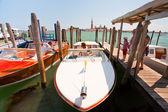 San marco venedik canal su taksi — Stok fotoğraf