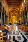 Interior Duomo di Monreale, Sicily — Stock Photo
