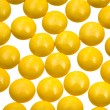 Many yellow  drugs — Stock Photo