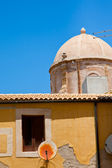 Houses in old part of town Syracuse, Sicily — Stock Photo