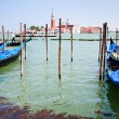 Gondola on San Marco Canal, Venice — Stock Photo