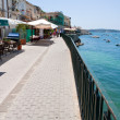 Seafront in Syracuse, Sicily - Stock Photo