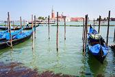 Gondole sur san canal marco, venise — Photo