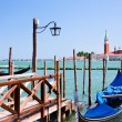 Pier on San Marco Canal, Venice, Italy — Stock Photo