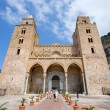 Cathedral in Cefalu, Sicily, Italy - Stock Photo