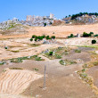 Royalty-Free Stock Photo: Deserted village and worked grounds in Sicily