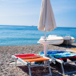 Ionian Sea beach in Sicily — Stock Photo