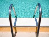 Outdoor pool handle — Stock Photo
