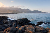 Ionian sea beach — Stock Photo