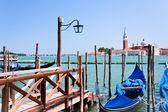 Pier on San Marco Canal, Venice, Italy — Stock Photo