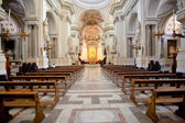 Interior of Palermo Cathedral, Sicily — Foto Stock