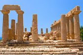Temple of Juno in Valley of the Temples in Agrigento — ストック写真