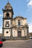 Sant' Antonio church in Castiglione di Sicilia — Stock Photo