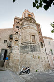 Ancient norman Church in Sicily — Stock Photo