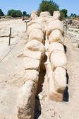 Antika atlant staty i Tempeldalen — Stockfoto