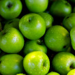 Stock Photo: Lot of green apples