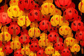 Dharma Lanterns — Stock Photo