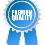 Premium quality rosette — Stock Photo