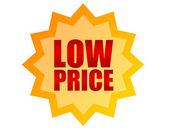 Label low price — Stock Photo