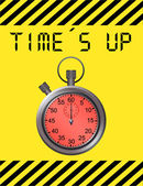 Time`s up — Stock Photo