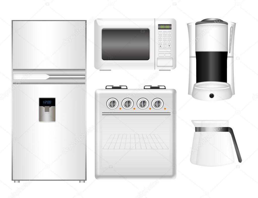Kitchen Appliances Set Stock Photo Grgroupstock 5921798