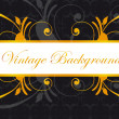 Ornaments background — Image vectorielle