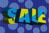 Sale background — Stock Vector