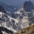 Постер, плакат: Landscape mountain marble quarries of Carrara
