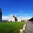 Townscape of Piazza dei Miracoli in Pisa. — Stock Photo