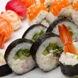 Sushi on a white background - 