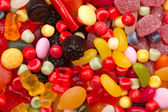 A lot of candies for background — Stock Photo