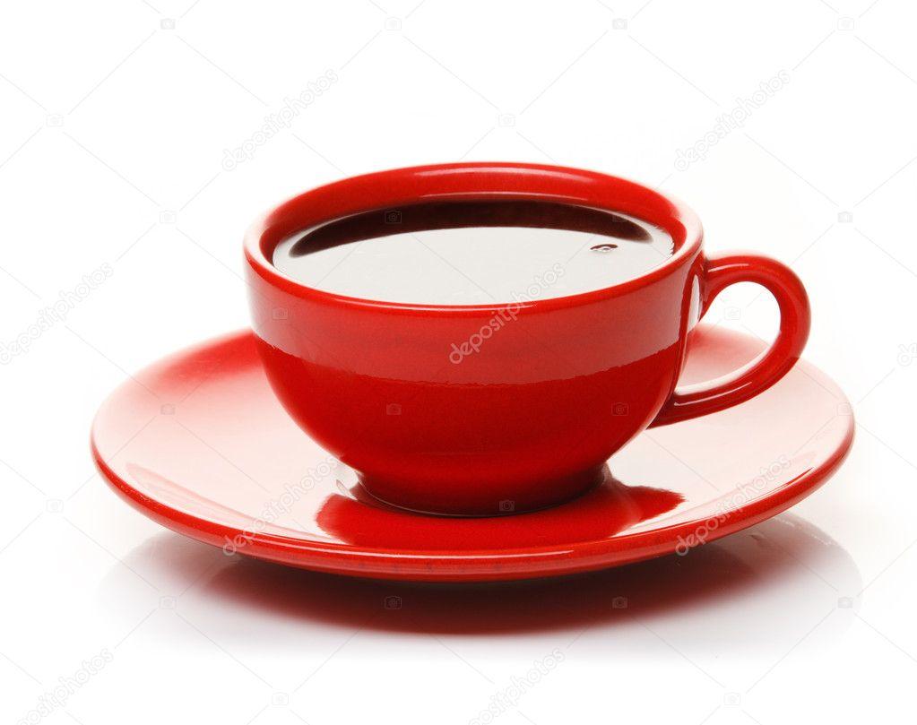 Red Cup Of Coffee Stock Photo IgorKlimov 5701741