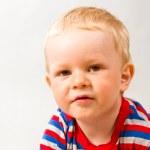 Little boy on white background — Stock Photo #5843388
