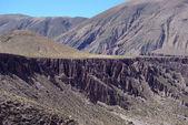アルゼンチンのアンデス山脈の道 — Stock fotografie
