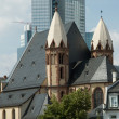 Frankfurt Cityscape - Stock Photo