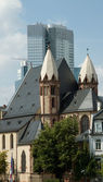 Frankfurt Cityscape — Stock Photo
