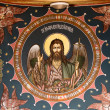 Jesus image on church ceiling — Stock Photo #5889674
