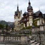Romania King Carol Palace — Stock Photo