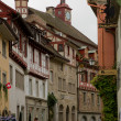 Stein am Rhein Swiss village — Stock Photo