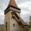 Biertan fortress tower in Transylvania — Stock Photo
