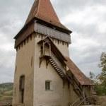 Biertan fortress tower in Transylvania — Stock Photo
