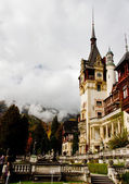 Peles castle, Sinaia,Romania — Stock Photo