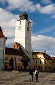 Sibiu Clock Tower — Stock Photo