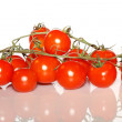 Close up red tomatos — Stock Photo