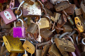 LOCKS OF LOVE — Stock Photo