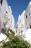 Ostuni street view — Stock Photo