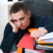 Business man tired — Stock Photo