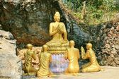 Buddhist statues — Stock Photo