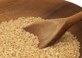 Brown Rice — Stock Photo