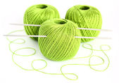 A set of yarn for knitting — Stock Photo
